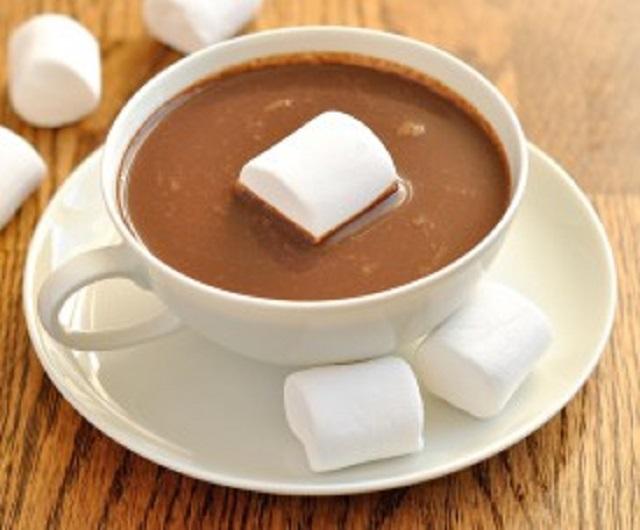 ciocolata calda beneficii