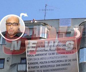 EXCLUSIV / Un lăutar celebru ameninţă că se aruncă de la etajul 10! Ce legătură are tentativa de sinucidere cu cei şapte violatori din Vaslui!