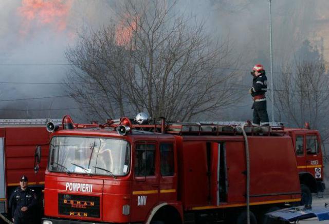 Incendiu de proporții în Chitila. În apropiere se află un ...  |Incendiu Chitila