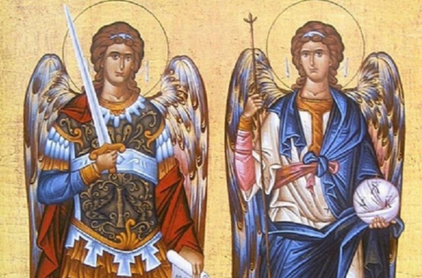 картинки с праздником архангела михаила и гавриила собрали десять