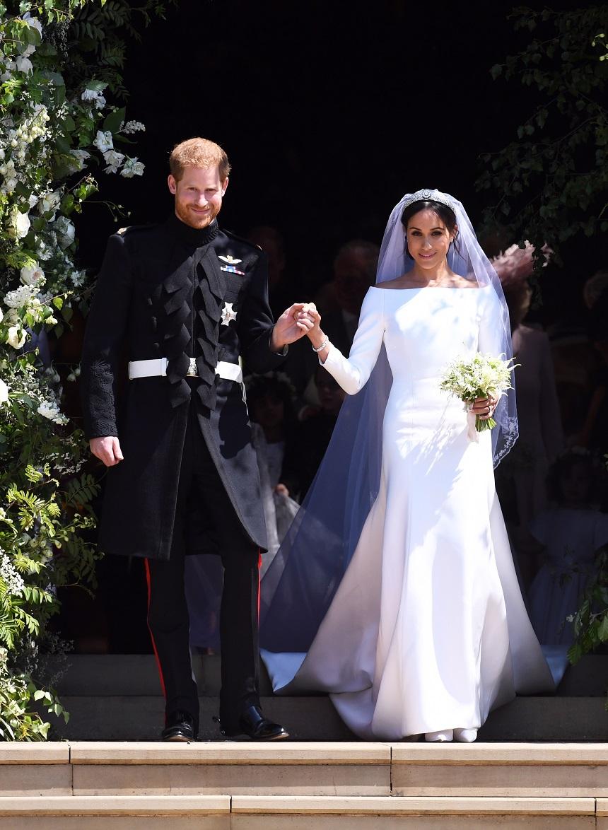 Foto Au Apărut Primele Imagini Oficiale De La Nunta Regală Meghan