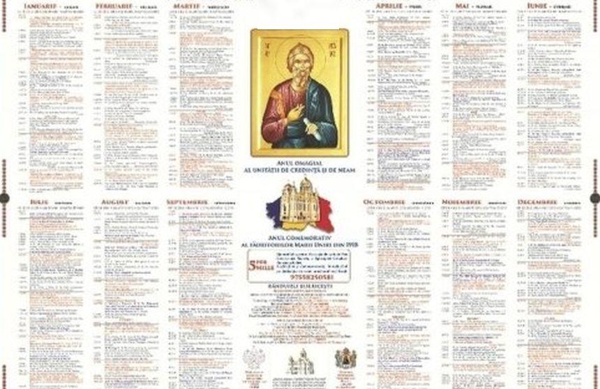 Calendar ortodox mai 2019