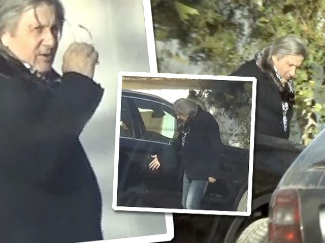 O mașină l-a transformat pe Ilie Năstase! Paparazzii Spynews.ro l-au surprins pe legendarul tenismen în ipostaze de tot râsul